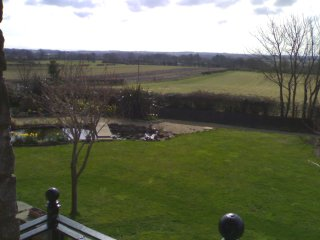 View from the Great Barn Guest House